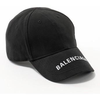 BALENCIAGA バレンシアガ 531588 410B7 1077 ロゴ刺繍 ベースボールキャップ 帽子 1077 ユニセックス