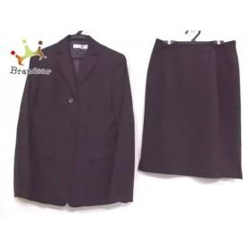 ニジュウサンク 23区 スカートスーツ サイズ38 M レディース ダークグレー   スペシャル特価 20190428