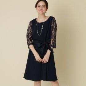 クチュールブローチ(Couture Brooch)/【WEB限定販売(LLサイズ)】Mint Souffle(ミントスフレ)レーシーワンピース