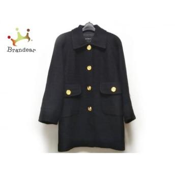 ビッキー VICKY コート サイズ9 M レディース 美品 黒 冬物 新着 20190602【人気】