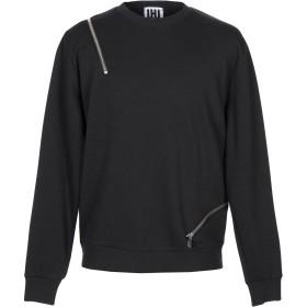 《期間限定セール開催中!》LHU URBAN メンズ スウェットシャツ ブラック S ポリエステル 76% / レーヨン 13% / コットン 11%