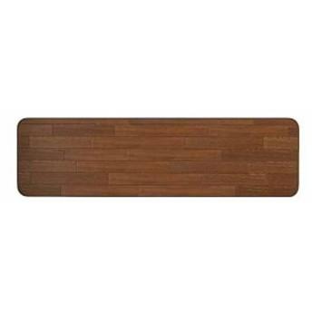 クッションフロアキッチンマット 50cm×180cm[RG99218](ブラウン)