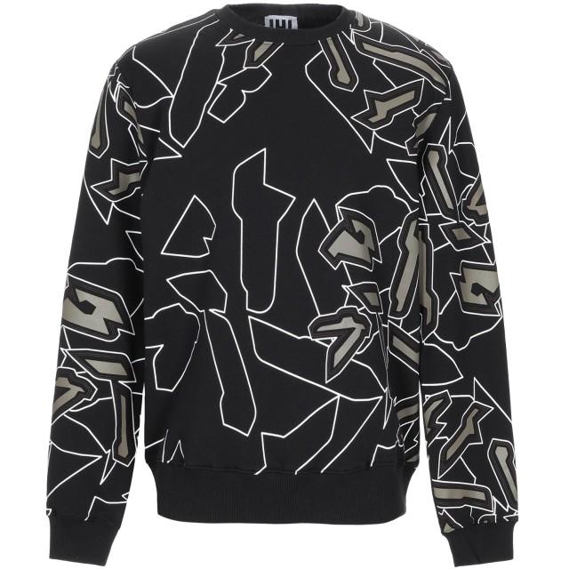 《期間限定セール開催中!》URBAN LES HOMMES メンズ スウェットシャツ ブラック S コットン 100%