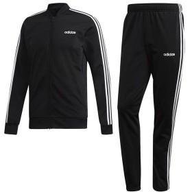 [adidas]アディダス メンズウェア M CORE 3ストライプス トリコットトラックスーツ (FRW20)(DV2448) ブラック/ブラック/ホワイト[取寄商品]