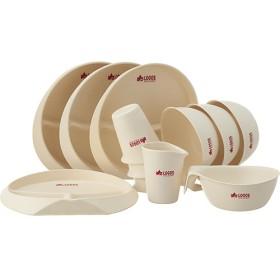 ロゴス(LOGOS) キャンプ バイオプラント 立つ食器12 食器セット 4人用 81284803
