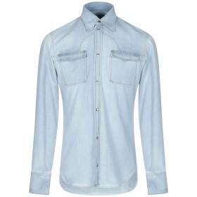 《期間限定セール開催中!》MAISON MARGIELA メンズ デニムシャツ ブルー 38 コットン 100%