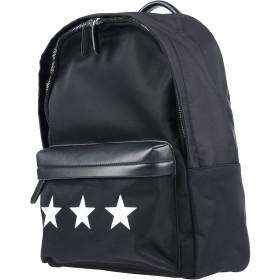 6700ea932e00 《限定セール中》RECREATE Unisex バックパック&ヒップバッグ ブラック ナイロン / 革