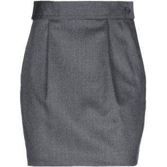 《セール開催中》DSQUARED2 レディース ミニスカート 鉛色 38 バージンウール 98% / ポリウレタン 2%
