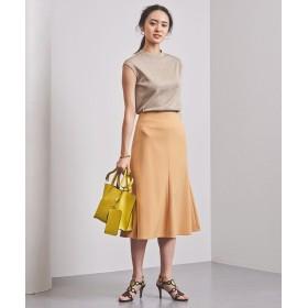 UNITED ARROWS UBCS カラー セミフレアスカート