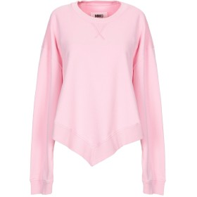 《セール開催中》MM6 MAISON MARGIELA レディース スウェットシャツ ピンク XS コットン 100% / ポリウレタン