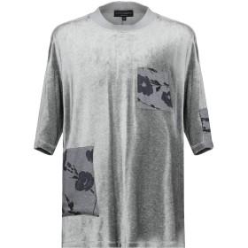 《期間限定 セール開催中》EMPORIO ARMANI メンズ T シャツ グレー XS レーヨン 87% / ナイロン 13% / ポリエステル