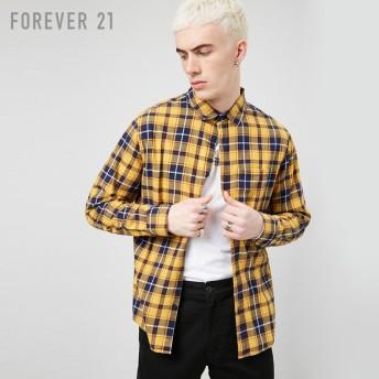 FOREVER21 フォーエバー21 【[MEN]チェックフランネルシャツ】(5,000円以上購入で送料無料)