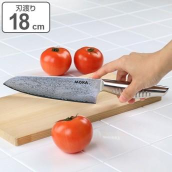 包丁 MOKA ダマスカス 三徳包丁 18cm ( 料理包丁 万能包丁 万能ナイフ )