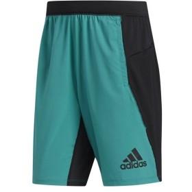 【1枚までメール便可】 [adidas]アディダス M4T STRONG カラーブロックショーツ (FSK73)(DU1590) アクティブグリーンS19/ブラック[取寄商品]