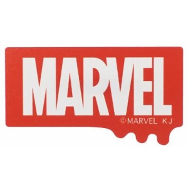 MARVEL バッジ ダイカット アクリル バッジ レッド マーベル コレクション雑貨 キャラクター グッズ メール便可