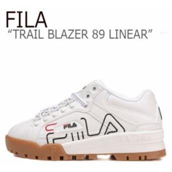 フィラ スニーカー FILA メンズ レディース TRAIL BLAZER 89 LINEAR トレイル ブレザー89 リニア― ホワイト FS1HTB1147X シューズ