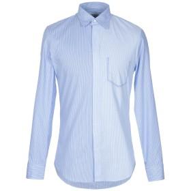 《期間限定セール開催中!》MAISON MARGIELA メンズ シャツ アジュールブルー 39 コットン 100%