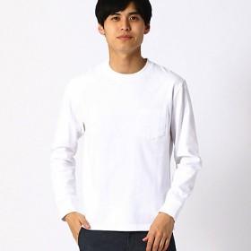 <COMME CA ISM (メンズ)> Tシャツ(4761TL04) ホワイト 【三越・伊勢丹/公式】