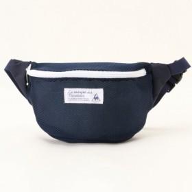 バッグ カバン 鞄 レディース レディース メッシュウエストバッグ 「ネイビ−」