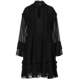 《セール開催中》LE COEUR TWINSET レディース ミニワンピース&ドレス ブラック L ポリエステル 100% / ナイロン