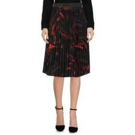 《セール開催中》BALENCIAGA レディース ひざ丈スカート グリーン 36 98% ポリエステル 2% ポリウレタン