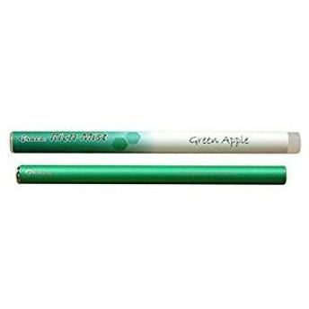 【訳あり 特価】 電子たばこ GRACE リッチミスト グリーンアップル (1セット) 1本500回吸引可能な使い捨て電子ベイプ