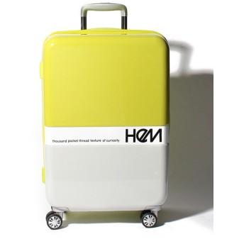 【29%OFF】アディセレクション スーツケース フラスコ Mユニセックスライトグリーンフリーサイズ【addy selection】【セール開催中】