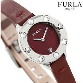 e8df7cae4b67 フルラ 時計 クラブ 26mm レディース 腕時計 4251109528 FURLA ワインレッド 革ベルト