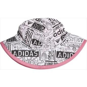 [adidas]アディダス Babyバケット (FTT92)(DW4775) ホワイト/ライトピンク/ホワイト[取寄商品]