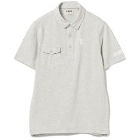 LINKSOUL×BEAMS GOLF / 別注 ツアーロゴ ポロシャツ メンズ ポロシャツ GREY M