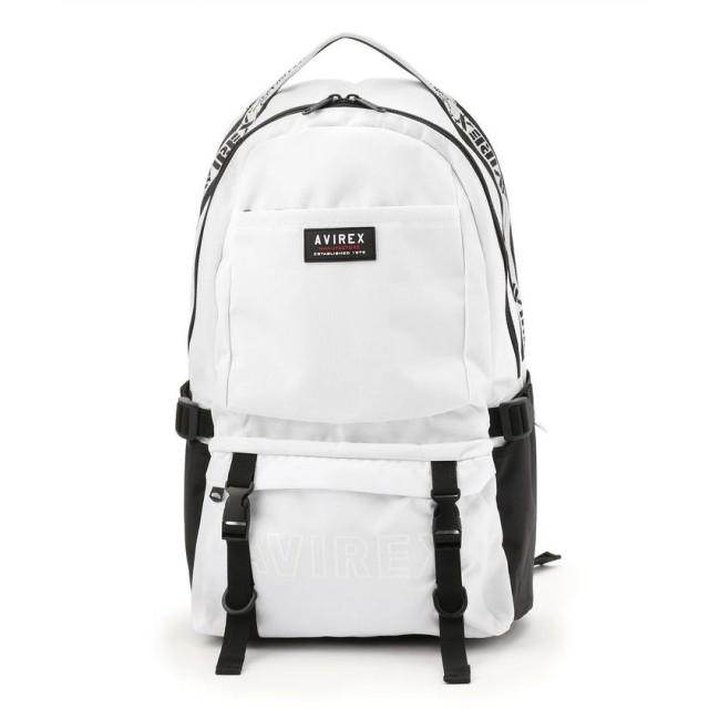 アヴィレックス ヴァーチカル デイパック/VERTICAL DAY PACK/AX2013 メンズ WHITE F 【AVIREX】