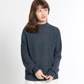 ニット・セーター - FINE ランダムリブニット:トップス セーター きれいめ 大人 オフィス 仕事 シンプル