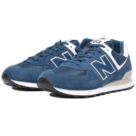 (NB公式)【ログイン購入で最大8%ポイント還元】 ユニセックス ML574 ESM (ブルー) スニーカー シューズ 靴 ニューバランス newbalance