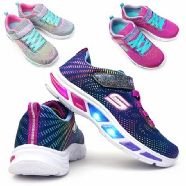 スケッチャーズ 光る靴 ガールズ 10959L エスライツ LITEBEAMS 子供 スニーカー キッズ ジュニア SKECHERS Girls S LIGHTS GALAXY LIGHTS