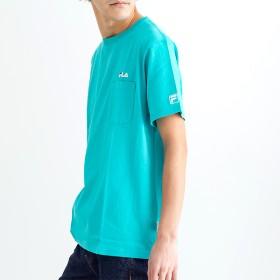 Tシャツ - A-STREET フィラ FILA メンズTシャツ ロゴ おしゃれ 2019初夏 ホワイト 白 ブラック 黒 レッド ネイビー 紺 ターコイズ 青 SM L LL 3L FM4825