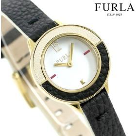 3386c068b3cd フルラ 時計 クラブ 26mm レディース 腕時計 4251109512 FURLA ホワイト×ブラック 革ベルト