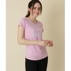Couture Brooch(クチュールブローチ) 【WEB限定販売】adidas(アディダス) ロゴプリントTシャツ