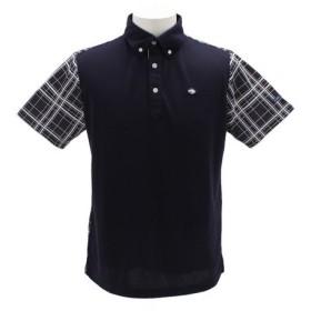 フィドラ(FIDRA) ゴルフウェア メンズ チェックポロシャツFI51TG02 NVY (Men's)