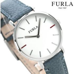 先着1,000円割引クーポン フルラ 時計 ジャーダ 33mm レディース 腕時計 4251108507 FURLA ホワイト×ダークブルー 革ベルト
