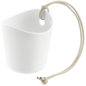 デコレア ストラップポット 8 ホワイト (1コ入)
