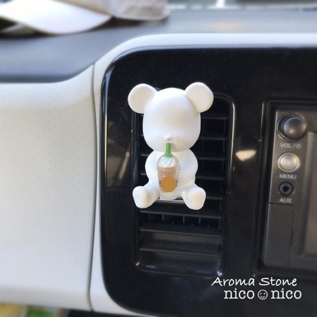 アロマストーン【車用】Bearドリンク