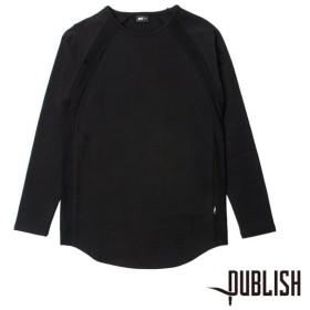 【PUBLISH BRAND/パブリッシュブランド】DYLAN カットソー / BLACK