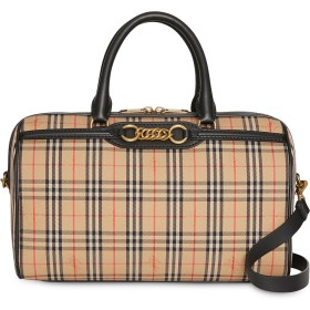 c400189e3264 Burberry The Medium 1983 Check Link Bowling Bag - ニュートラル