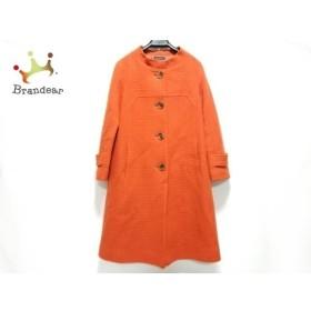 ザ ギンザ THE GINZA コート サイズ40 M レディース オレンジ 冬物  値下げ 20190604【人気】