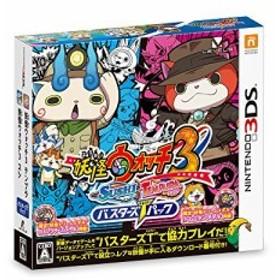 妖怪ウォッチ3 スシ/テンプラ バスターズTパック - 3DS(中古品)