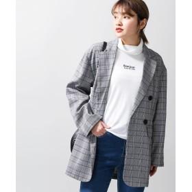 テーラードジャケット - WEGO【WOMEN】 チェックBIGジャケット BR19SP01-L001