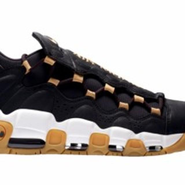 quality design 0d58c 568ca ナイキ メンズ スニーカー Nike Air More Money エア モアマネー Black Gold