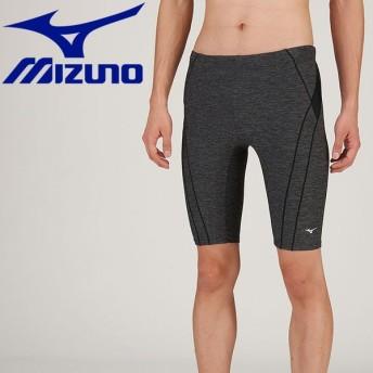 MIZUNO ミズノ ハーフスパッツ 立体カップ付 フィットネス 水着 メンズ N2JB910290