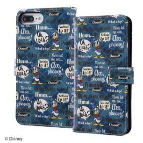 d7238fb67f ディズニー iPhone8Plus/7Plus/6sPlus/6Plus キャラクター 手帳型アートケース マグネット ドナルドダック