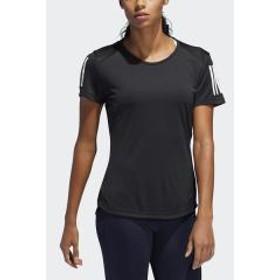 adidas(アディダス)レディーススポーツウェア レディースアパレルその他 OWN THE RUN Tシャツ FRQ07 DQ2618 レディース ブラック